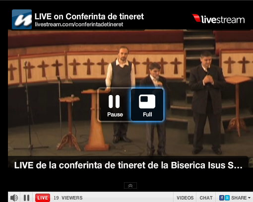Conferința de tineret: Biserica Isus Salvatorul – Transmisiune Live MoldovaCreștină.TV